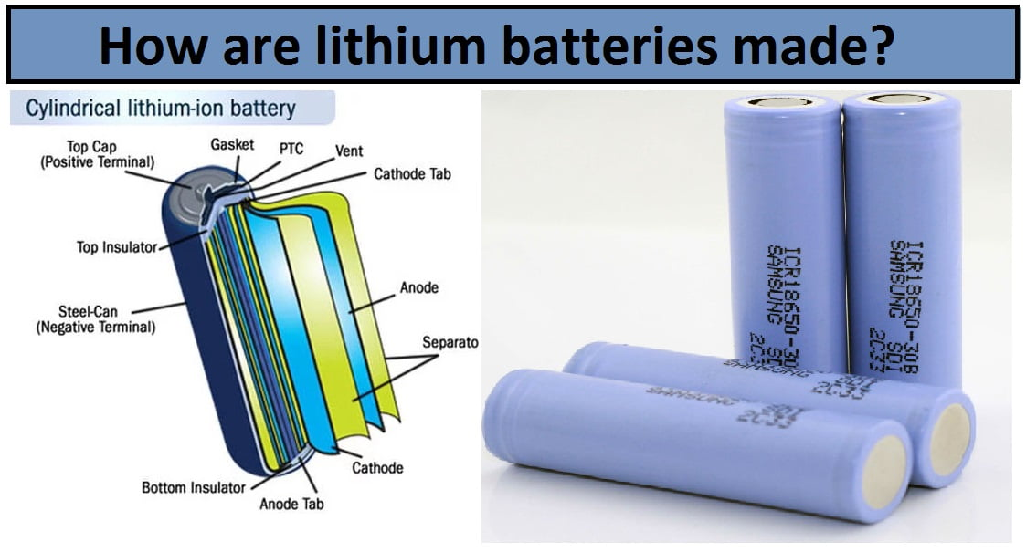 How Are Batteries Made >> How Are Lithium Batteries Made Engineering Insider