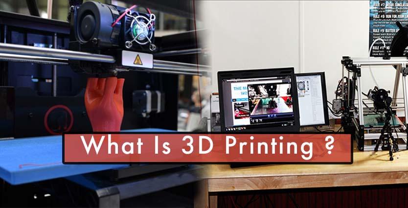 3D Printing, Printing