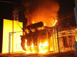 transformer fire, fire protection system