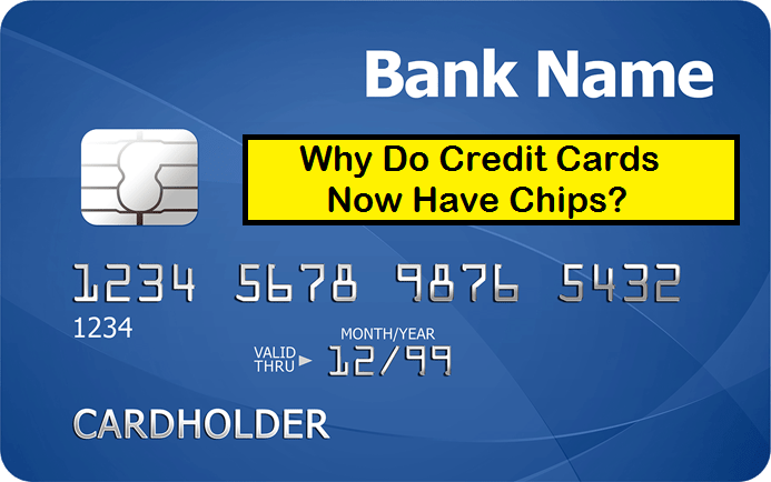 credit cards, chips