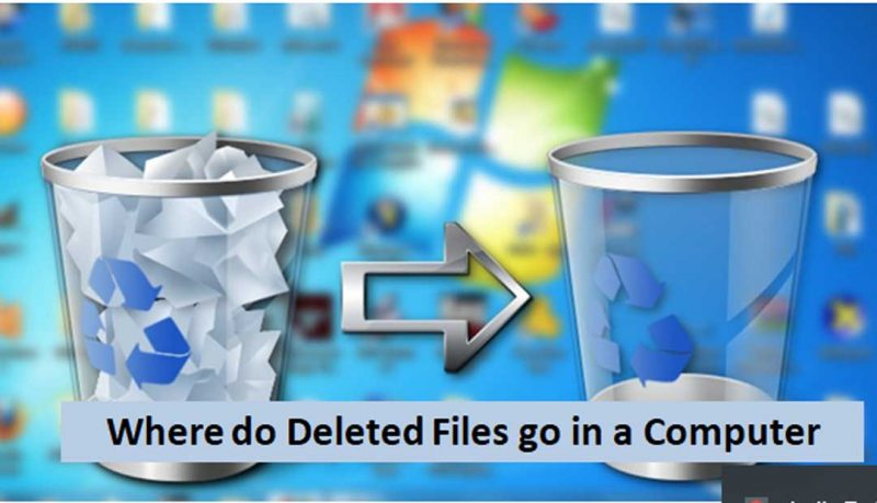 where do deleted files go in a computer